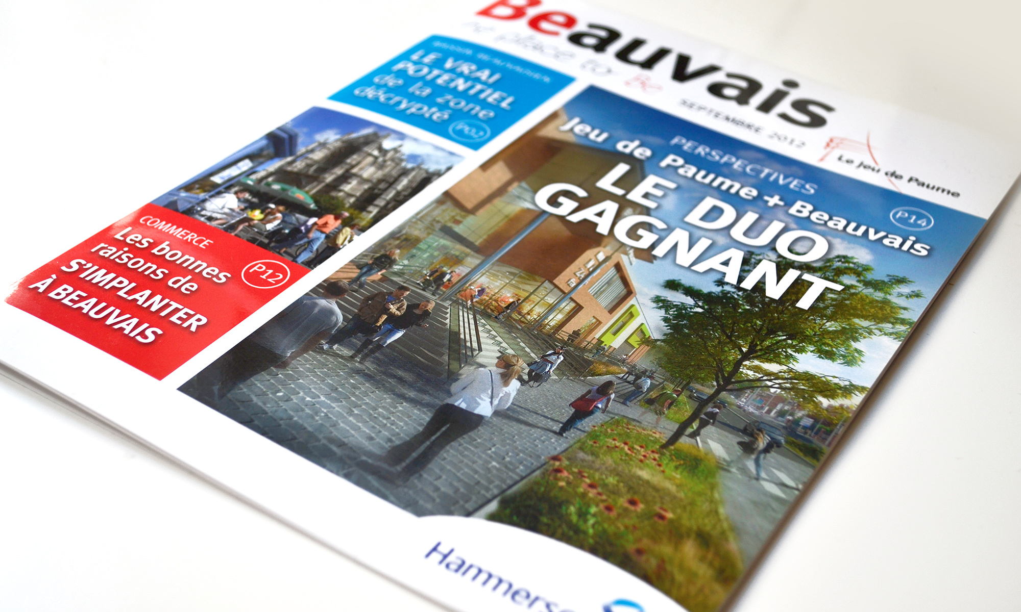 Beauvais The place to be - magazine B2B - IDDP - page de couverture