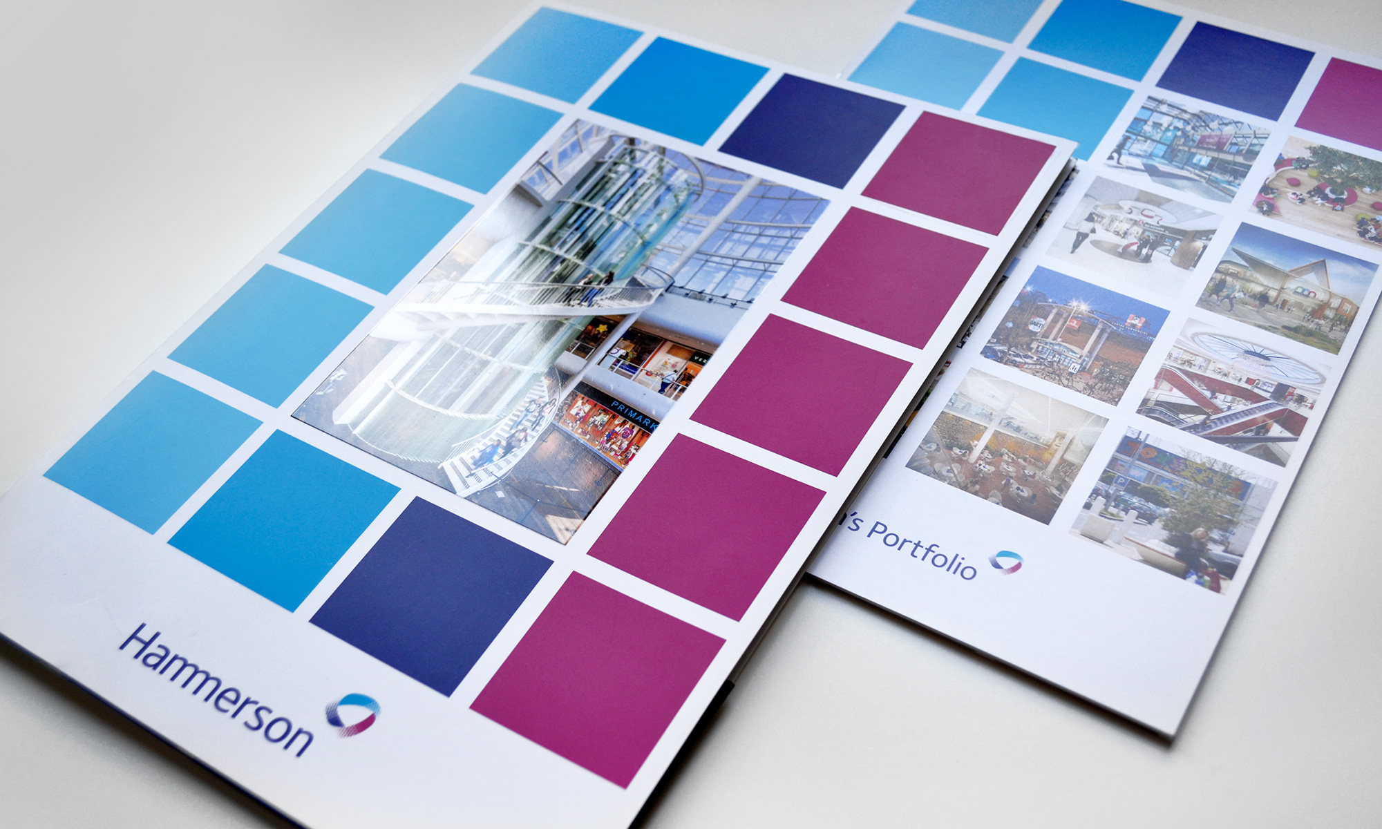 Hammerson - brochure institutionnelle - IDDP - pages de couverture