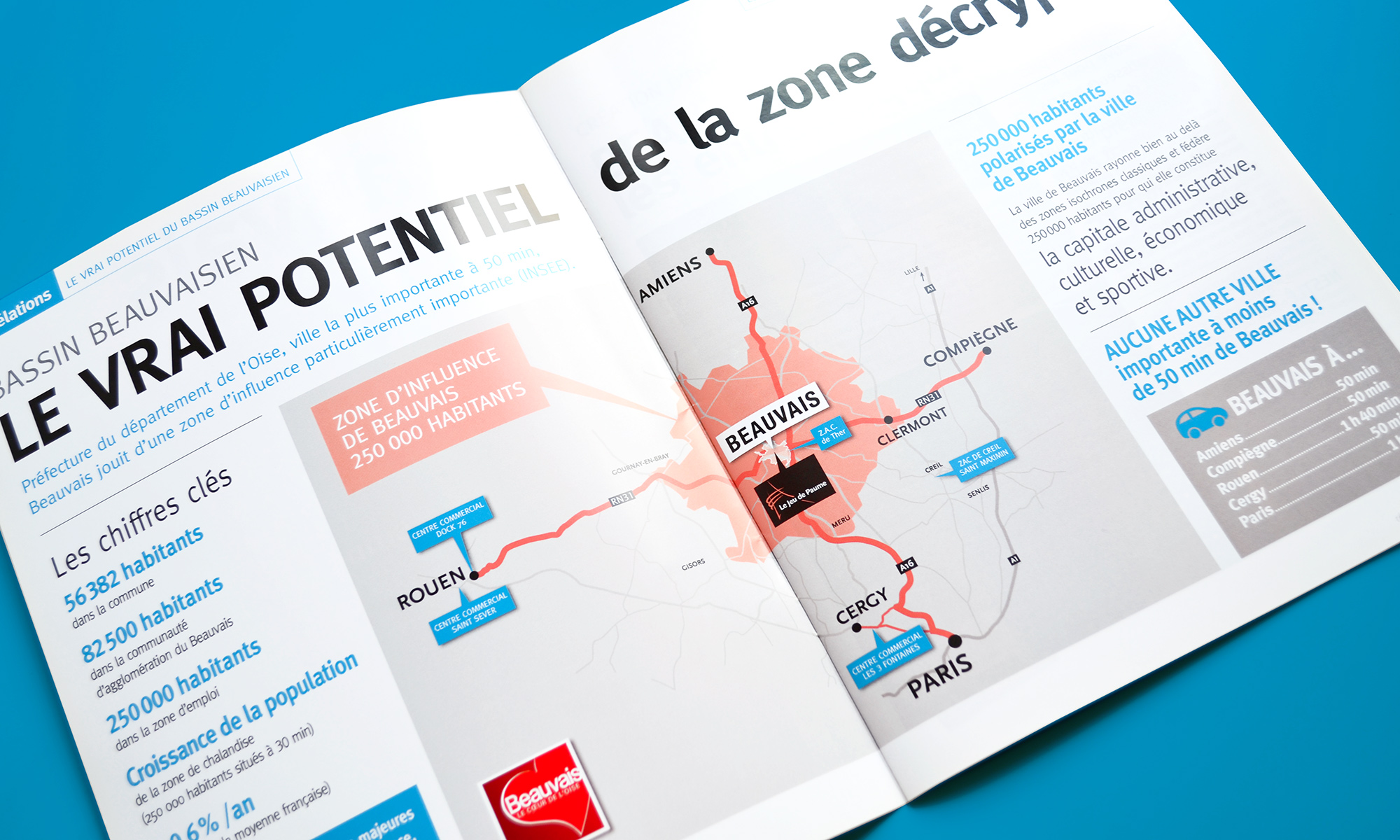 Beauvais The place to be - magazine B2B - IDDP - pages intérieures