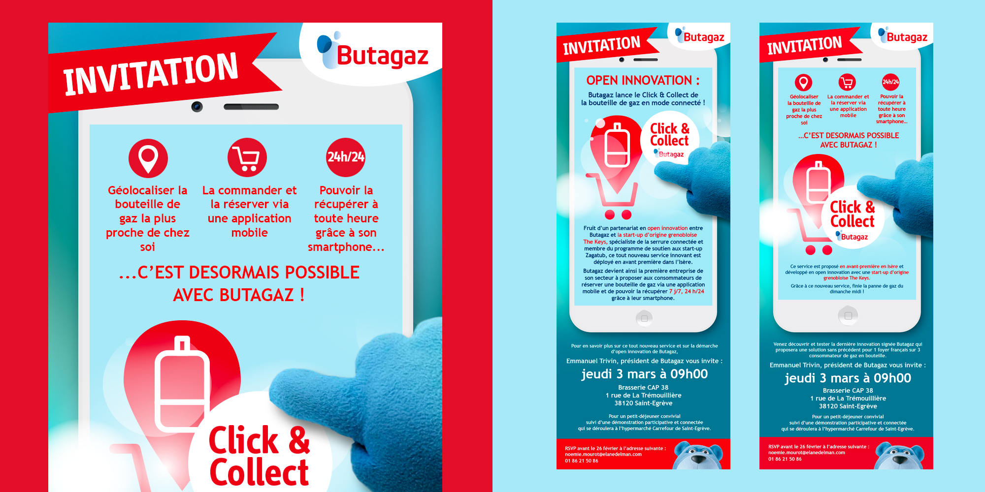 Butagaz - Click & Collect - emailing - IDDP