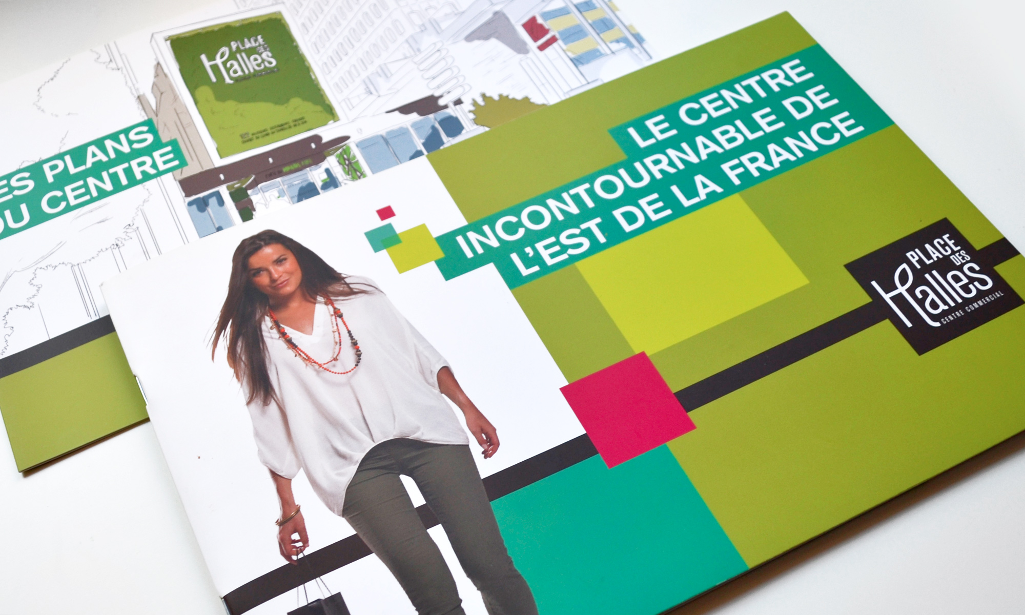 Place des Halles - IDDP - brochure corporate