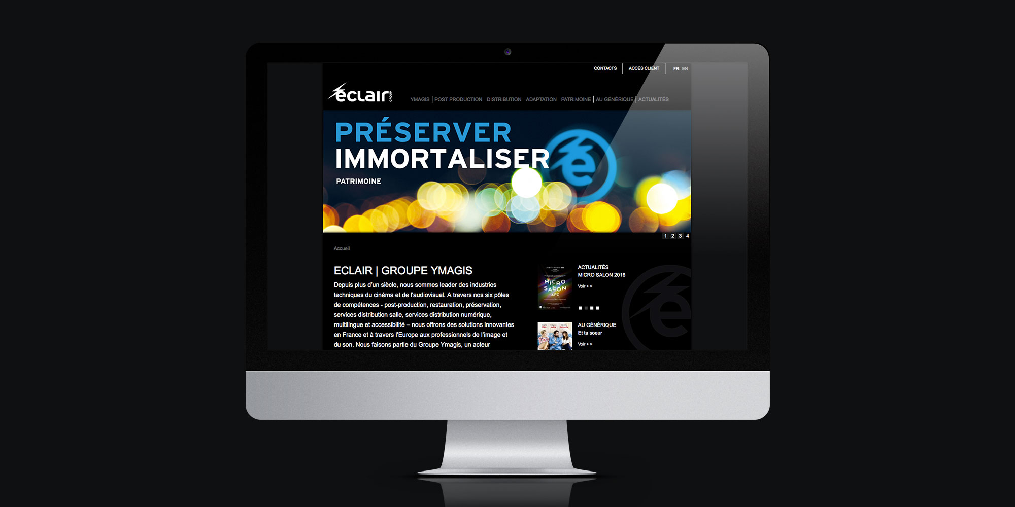 Eclair Group - IDDP - Homepage