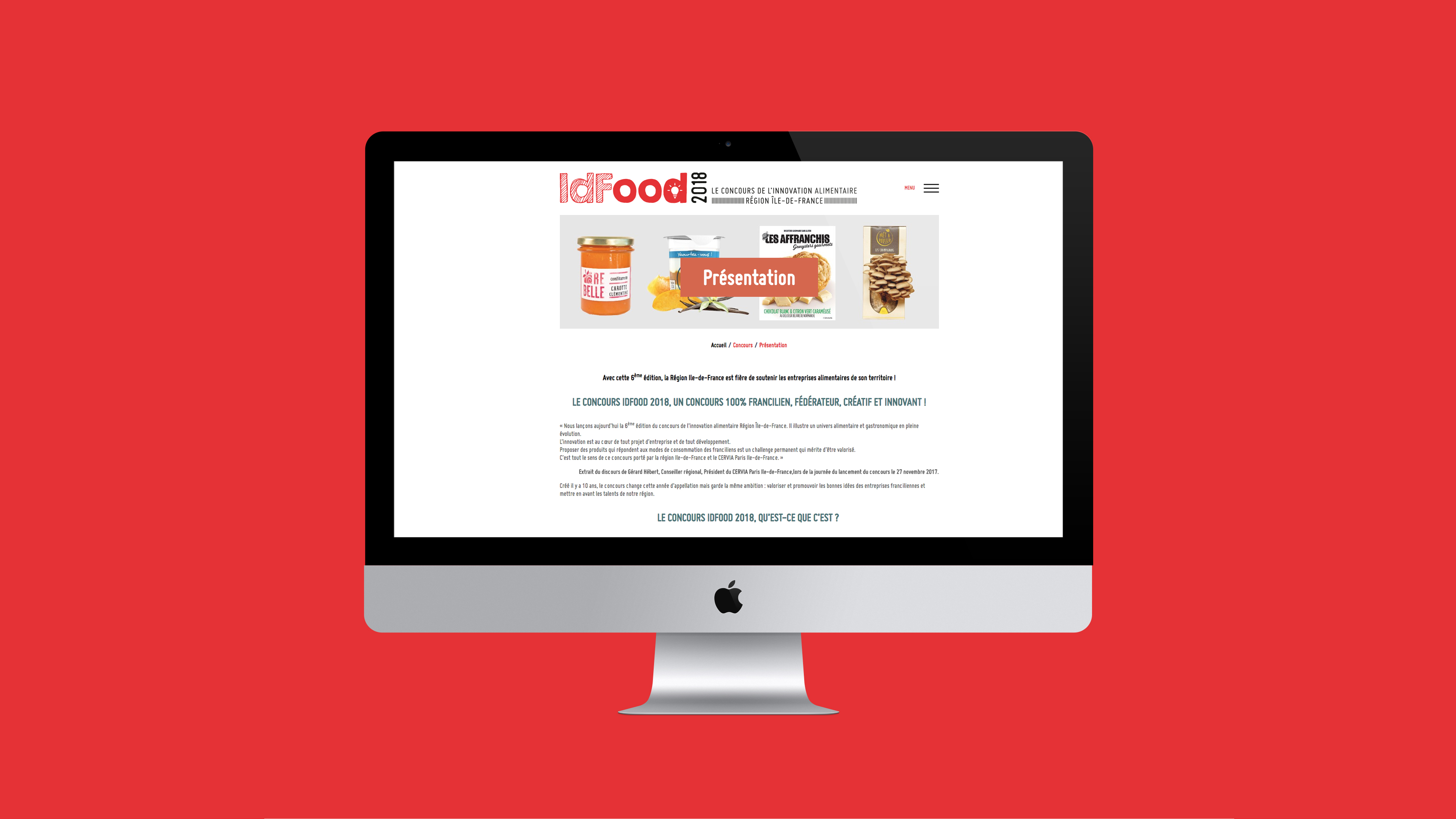 Site concours idfood